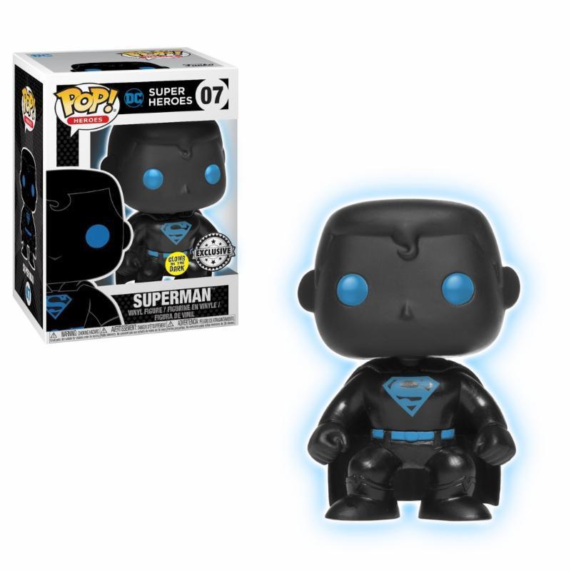 Batman SILHOUETTE Glow in the Dark #24742 Justice League Funko Pop