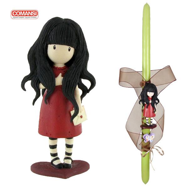 0734811da59 Πασχαλινή λαμπάδα Gorjuss | ToysForKids e-shop