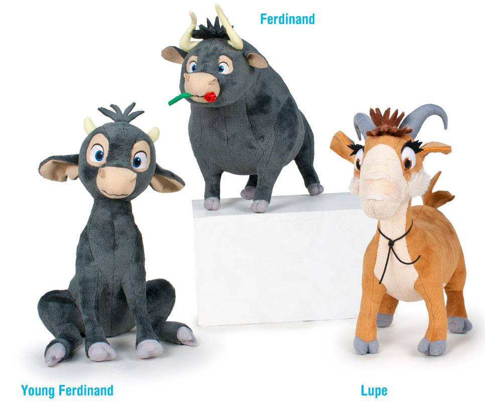 e4f089249cd Λούτρινα Ferdinand (3 σχέδια) #PBP16369 | ToysForKids e-shop