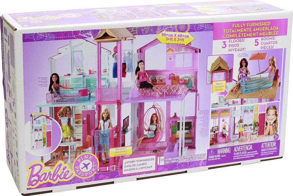d0989e5824b Barbie Malibu Σπίτι - Mattel #DLY32 | ToysForKids e-shop