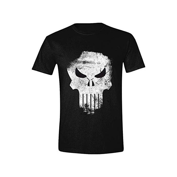T-Shirt Punisher Distressed Skull (Marvel)  CID00049-L  ae5b6f4e68e