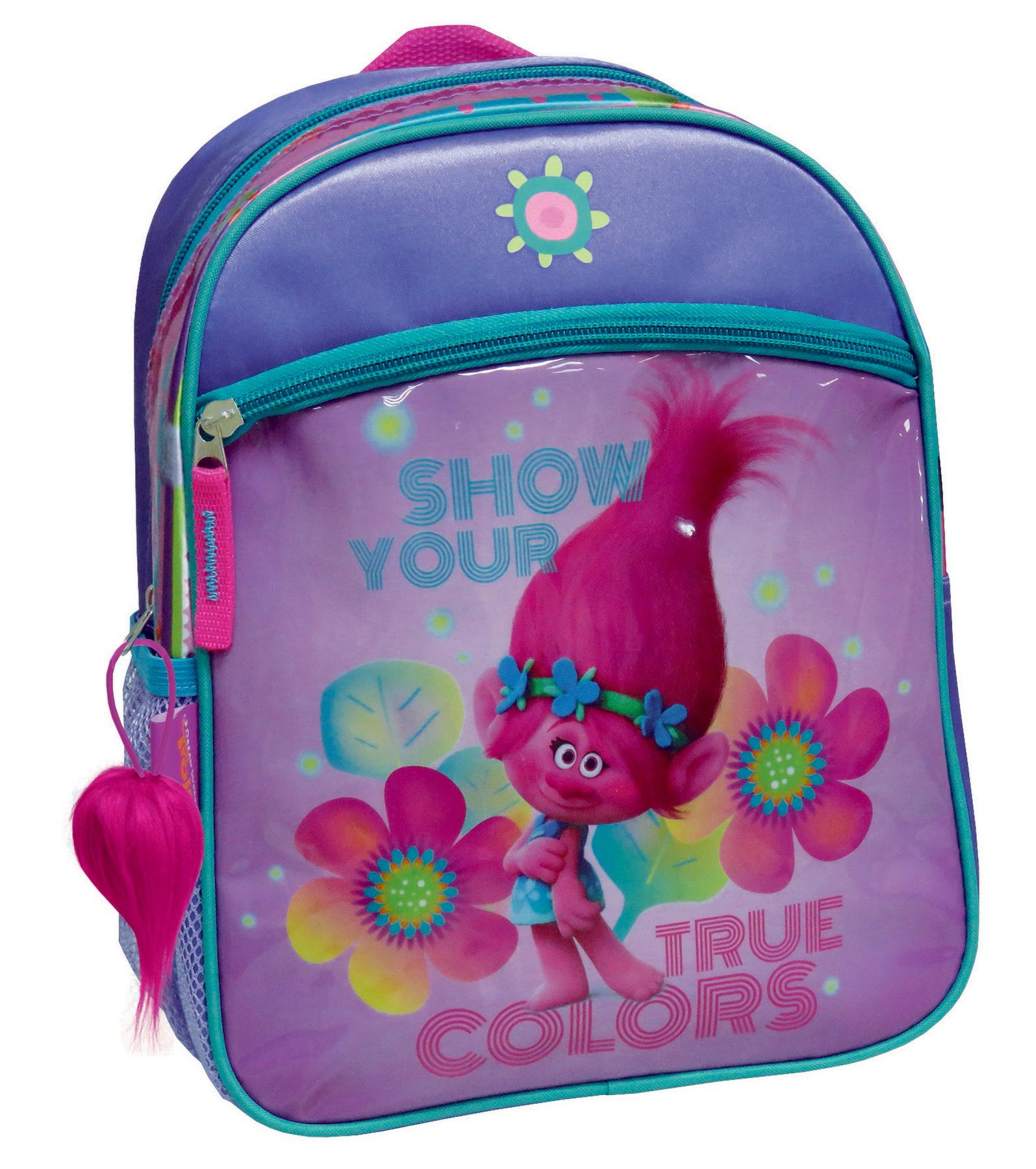 b73eb7b55c3 Τσάντα Νηπιαγωγείου με μπροστινή θήκη Poppy (Trolls)   ToysForKids e ...
