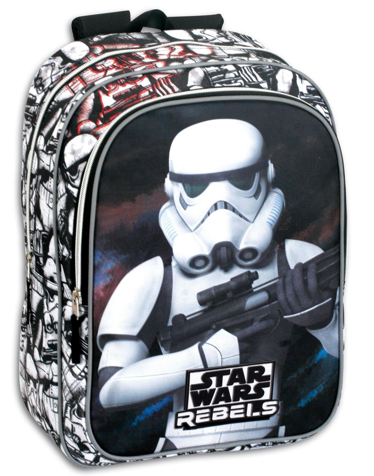 229a9e5e828 Star Wars. Χαρακτηριστικά. Κωδικός προϊόντος: MON41081. Τσάντα με μπροστινή  Trooper Star Wars μεγάλη