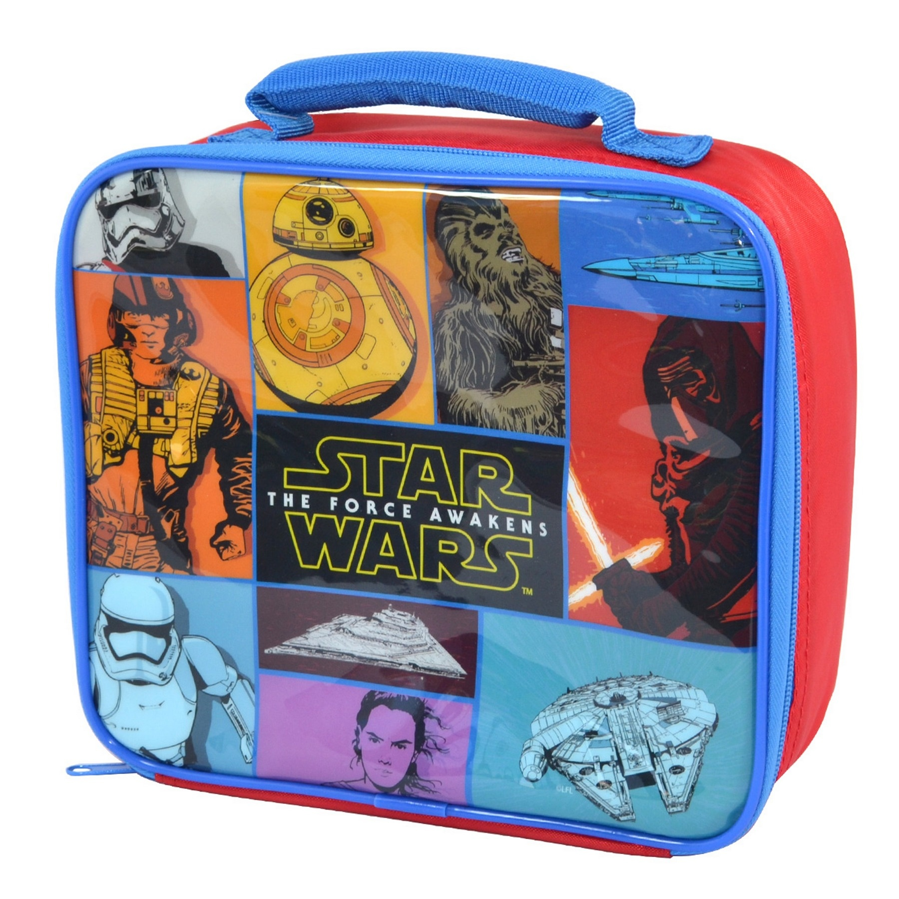 faa91ab47c Τσάντα φαγητού ισοθερμική Star Wars EP7 Force Awakens Retro ...