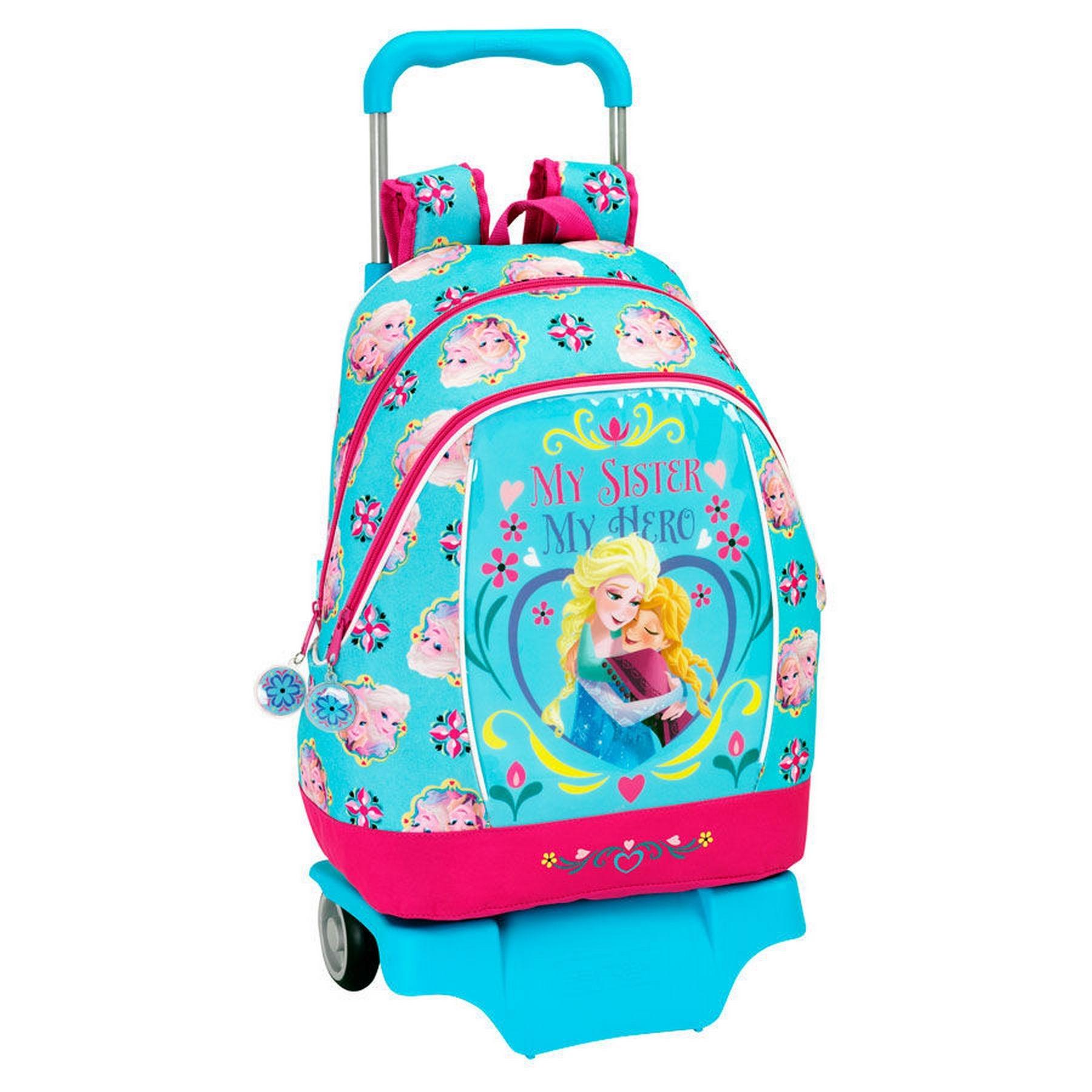d37482a4838 Τσάντα τρόλλευ δημοτικού Frozen Sisters 32*17*32cm #SAF15160 | ToysForKids e -shop