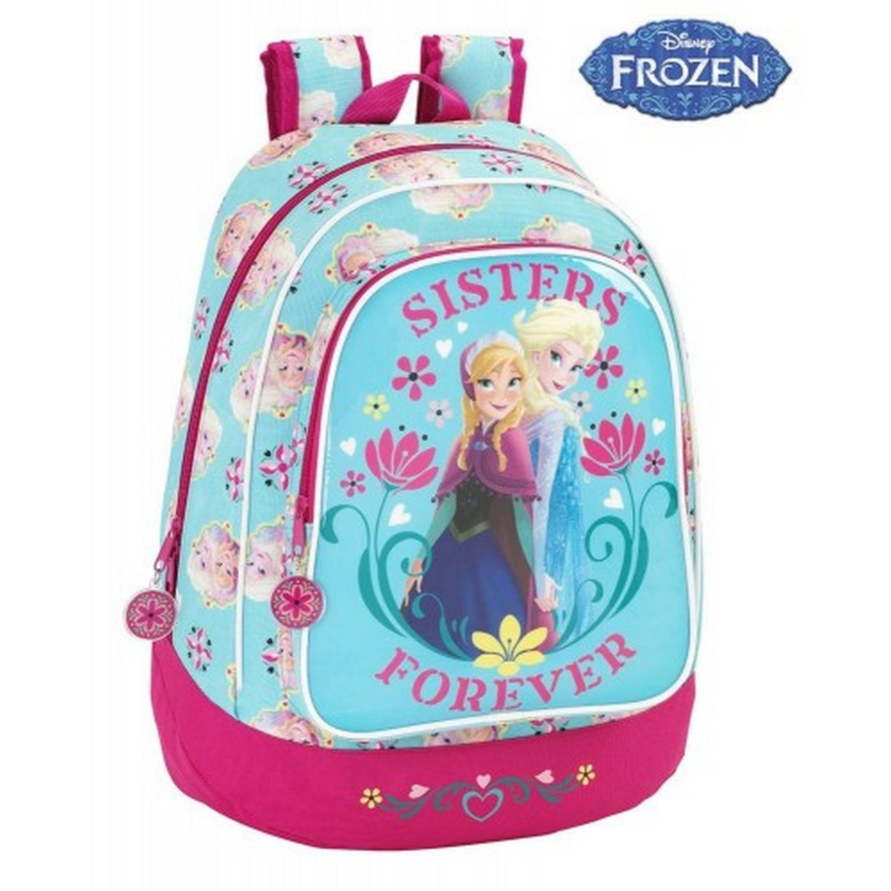 c8b413508de Τσάντα δημοτικού Frozen Sisters 32*17*42 #SAF15585 | ToysForKids e-shop