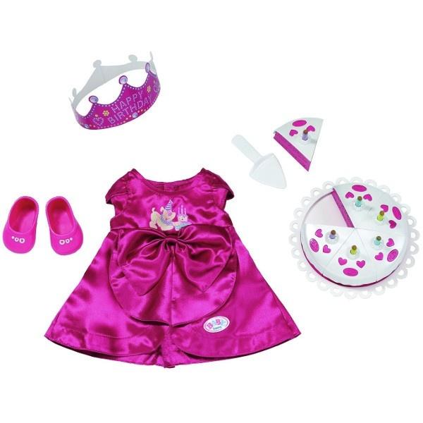 709fcc32276 Σετ ρούχα γενεθλίων baby born   ToysForKids e-shop