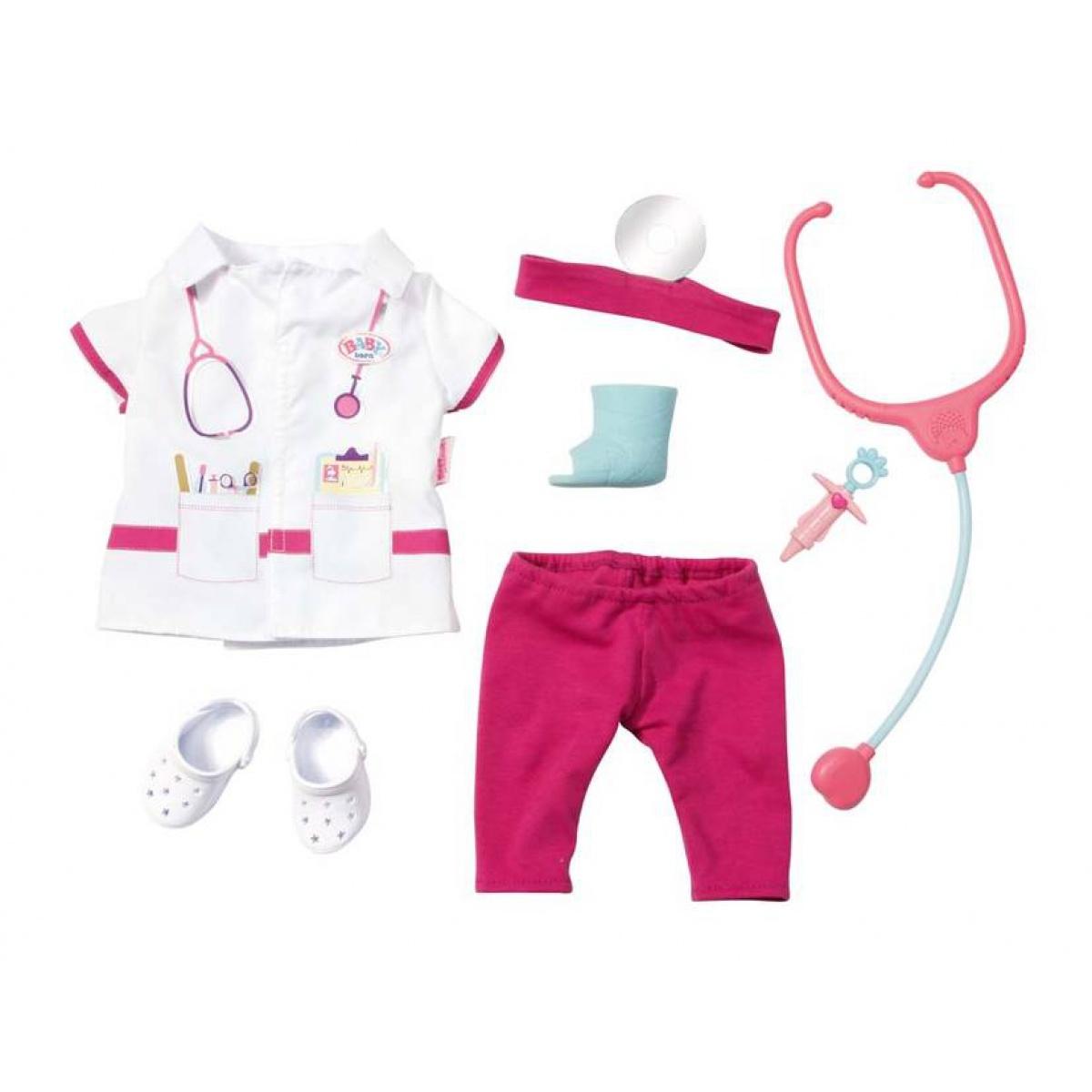 Σετ ρούχα και αξεσουάρ γιατρού baby born  fd3c690078a