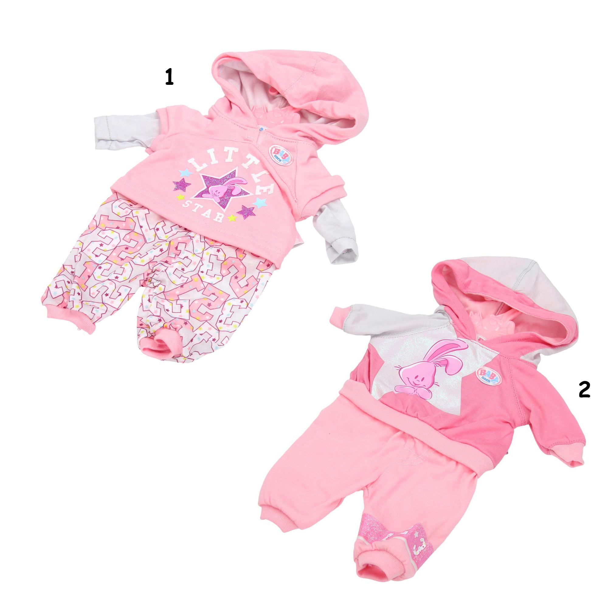 Σετ ρούχων Αθλητικά Baby Born 37 εκ.  a0744c593c7