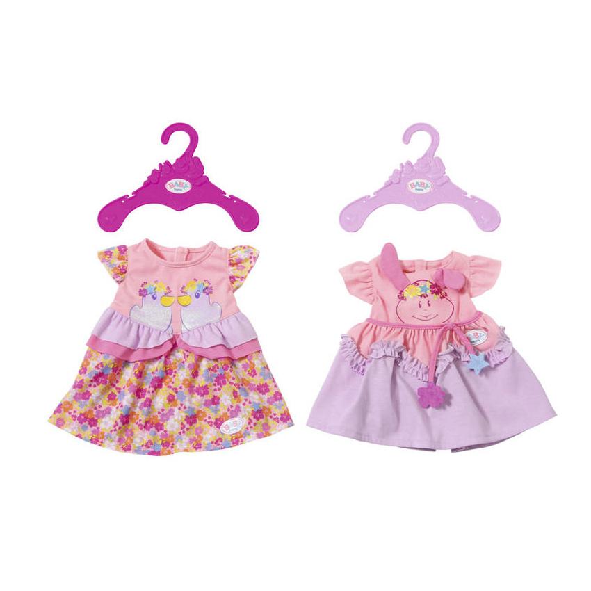 Φόρεμα καλοκαιρινό Baby born (2 σχέδια) - Zapf  824559  e84eab4d4ff