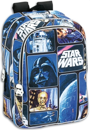 b2f899942ab Τσάντα με μπροστινή θήκη Star Wars μεγάλη | ToysForKids e-shop