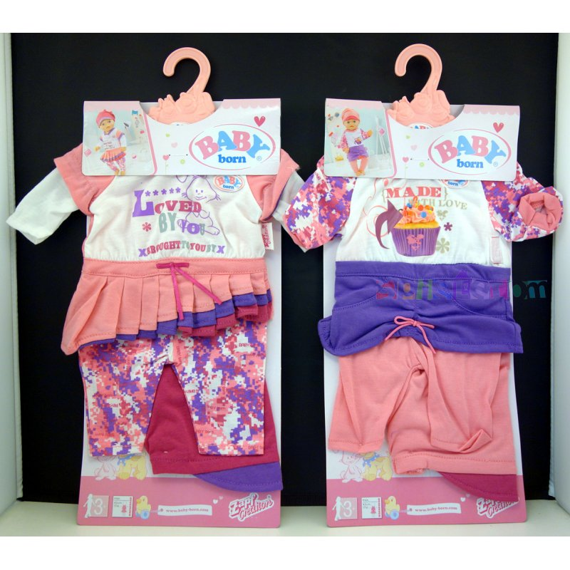 Ρούχα κούκλας.   Σετ ρουχαλάκια ·   Baby Born. Χαρακτηριστικά d507c15debc